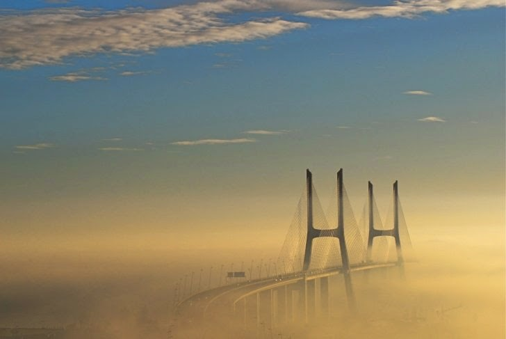2 – Vasco da Gama Bridge, Lisbon, Portugal - 11 Architectural Places You Should See Even Once in Your Life!