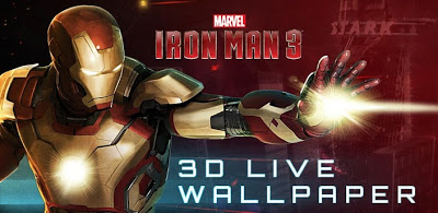 Iron Man 3D Live Wallpaper (Premium) .APK v1.0 Android [Full] [Free] ~ PREMIUM APK