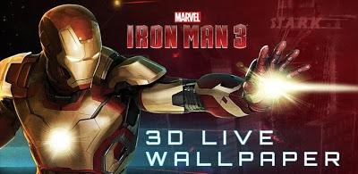 Iron Man 3D Live Wallpaper (Premium) .APK v1.0 Android [Full] [Free] ~ PREMIUM APK