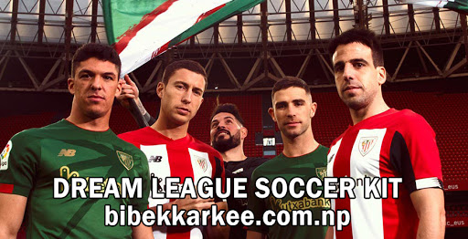 Athletic Bilbao 2019-2020 Dream League Soccer Kit and Logo- LA LIGA