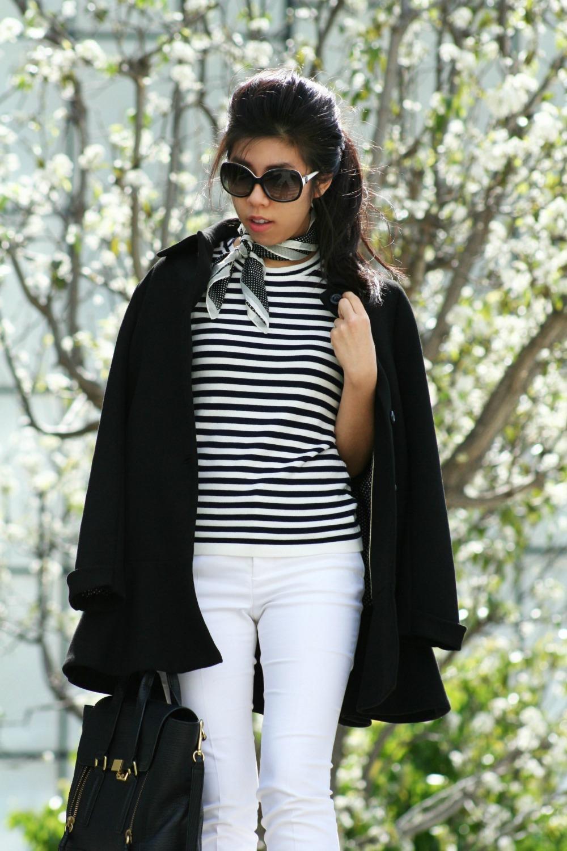 Chuck Bass Silk Tie Ascot - Gossip Girl Style - Audrey Hepburn Style Icon - Adrienne nguyen - Invictus