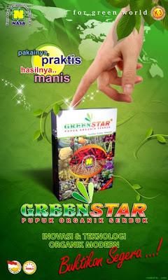 """pupuk organik serbuk greenstar natural nusantara"""