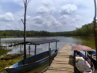 Danau Hatiwin, Rantau, Tapin, wisata Kalimantan Selatan