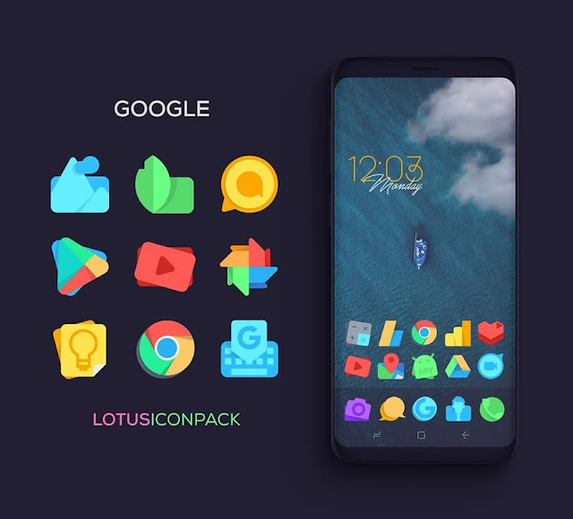 Descarga gratuita de Lotus Icon Pack apk
