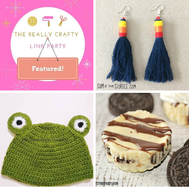 The Really Crafty Link Party#134 featured posts!