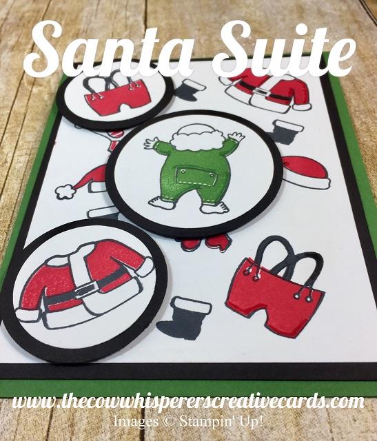 Card, Santa Suite, Santa Builder Framelits, Retiring