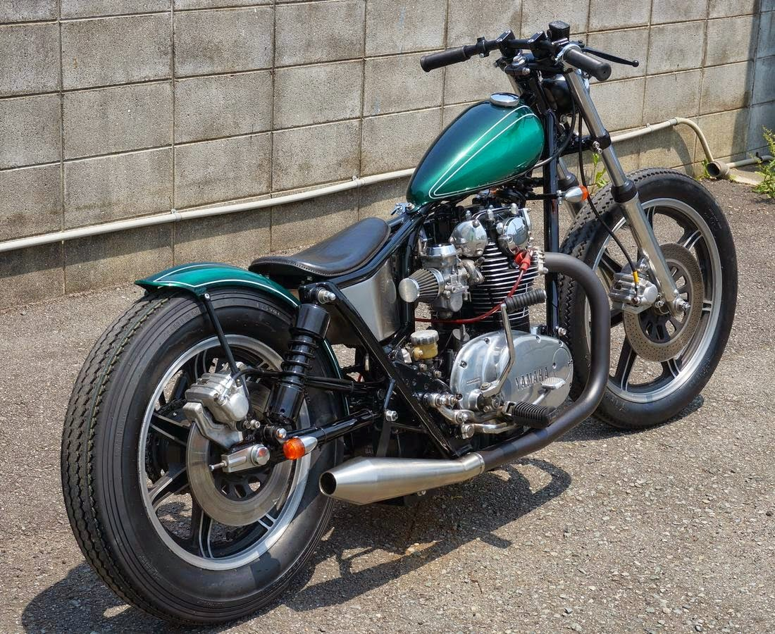Garage Yamaha ϟ Hell Kustom ϟ Yamaha Xs650 By Tr Garage