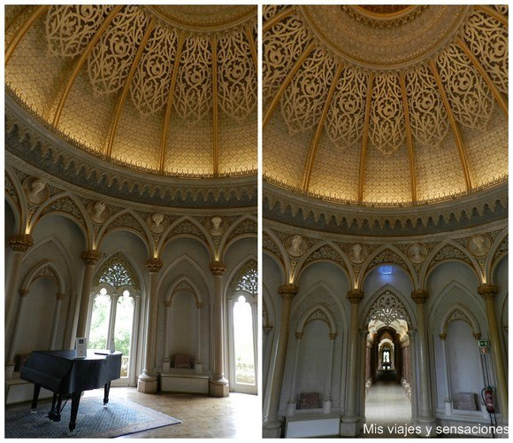 Sala de la música, Palacio de Monserrate, Sintra, Portugal