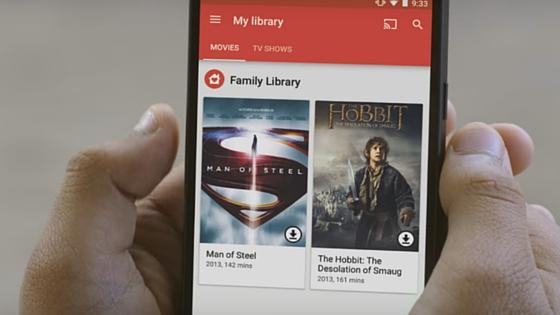 Berbagi konten dengan keluarga gunakan Google Play Family Library