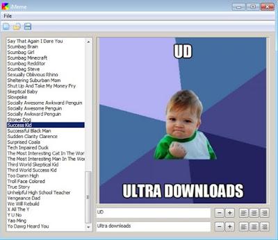 Software Gratis untuk Membuat Meme