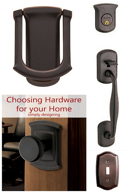 Choosing Hardware for Your Home + giveaway | #hardware #DIY #giveaway