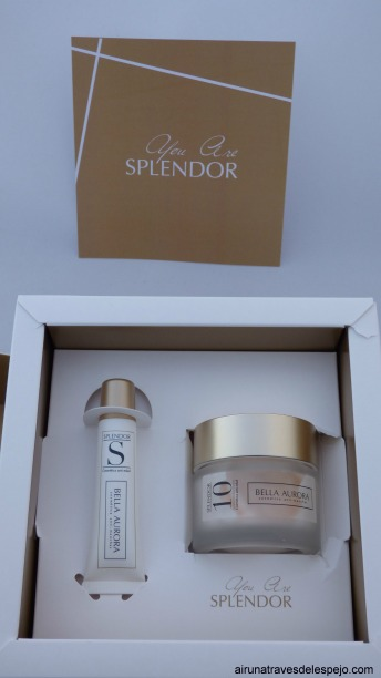 packing splendor bella aurora anti-edad manchas