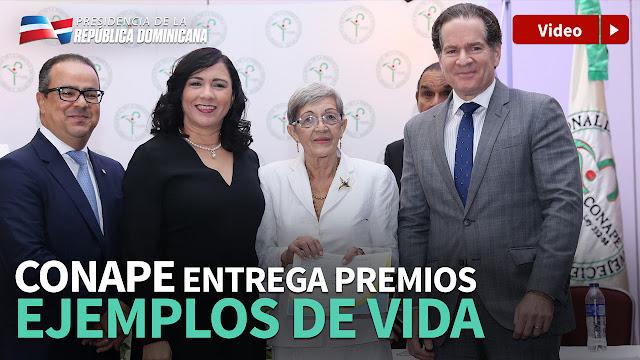 """CONAPE reconoce labor de adultos mayores con premios """"Ejemplos de Vida"""""""