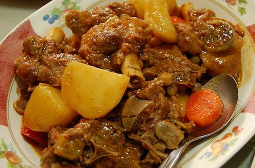 Kalderetang Kambing Goat Kaldereta Recipe Lasangrecipes