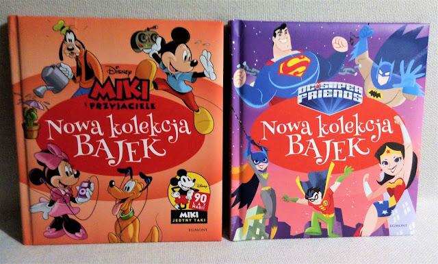 """""""Nowa kolekcja bajek"""" - Miki i przyjaciele oraz DC Superfriend, Egmont - recenzja"""