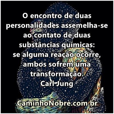 Amor, reação química e transformação. Carl Gustav Jung