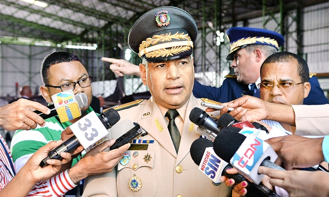 teniente general Rubén Darío Paulino Sem