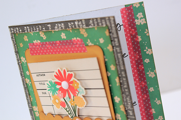 Just For You Card by Juliana Michaels using Pebbles From Me to You detail