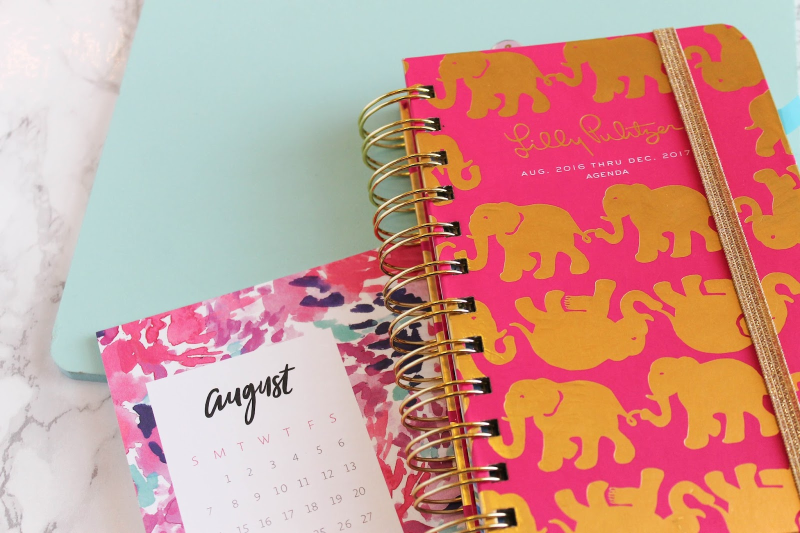 Lilly Pulitzer Small Agenda for College | The Bella Insider