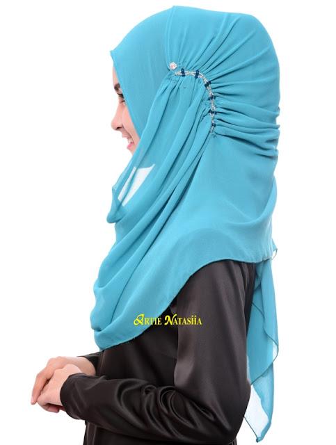 tudung desain raya instant shawl aidilfitri 2015
