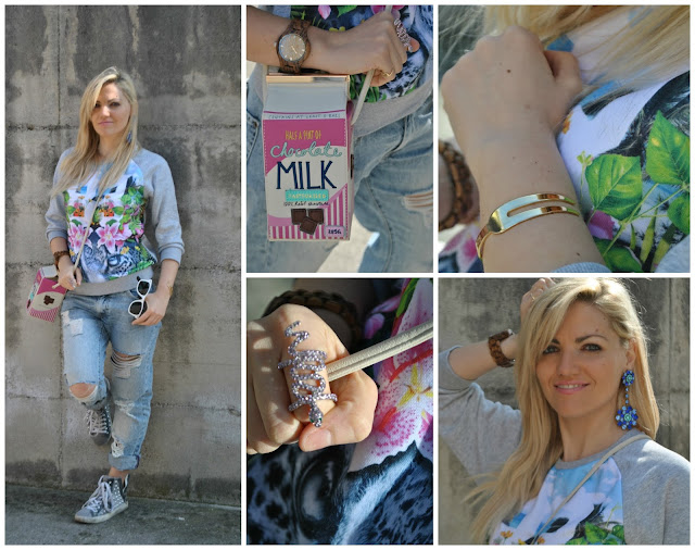 outfit jeans boyfriend strappati bracciale la forketta borsa milk bag outfit primaverili spring outfit outfit marzo 2016 march outfit mariafelicia magno fashion blogger color block by felym fashion blogger italiane fashion blog italiani fashion blogger milano blogger italiane blogger italiane di moda blog di moda italiani ragazze bionde blonde hair blondie blonde girl fashion bloggers italy italian fashion bloggers influencer italiane italian influencer