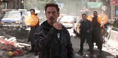 infinity war tony stark iron man