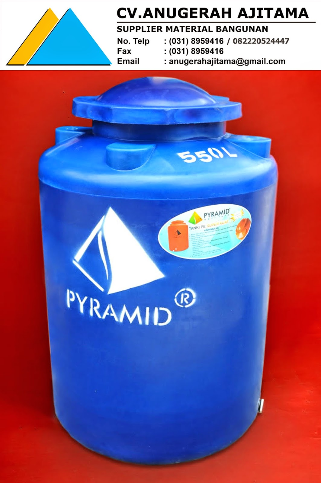 HARGA TANDON AIR PYRAMID