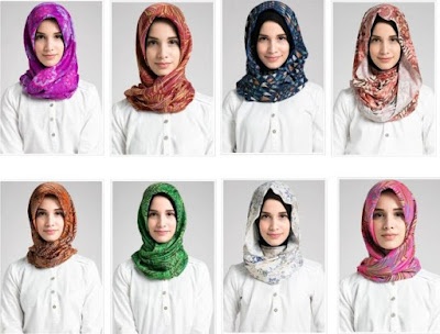 gaya hijab untuk ke kantor