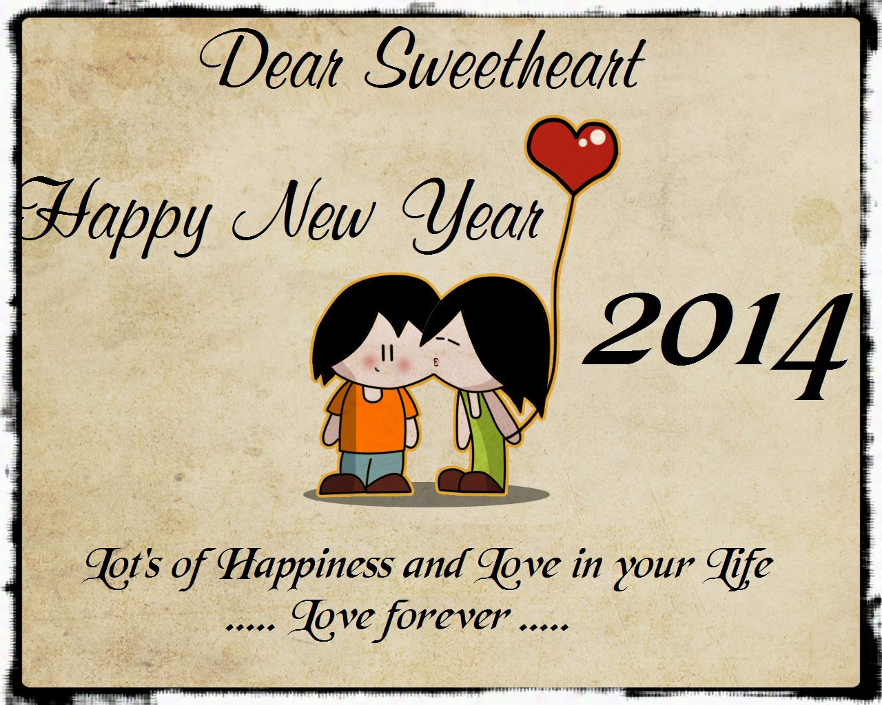 Funny Cartoons New Year 2014 HD Images Pictures. 1280 x 1024.Funny Happy New Year Gif