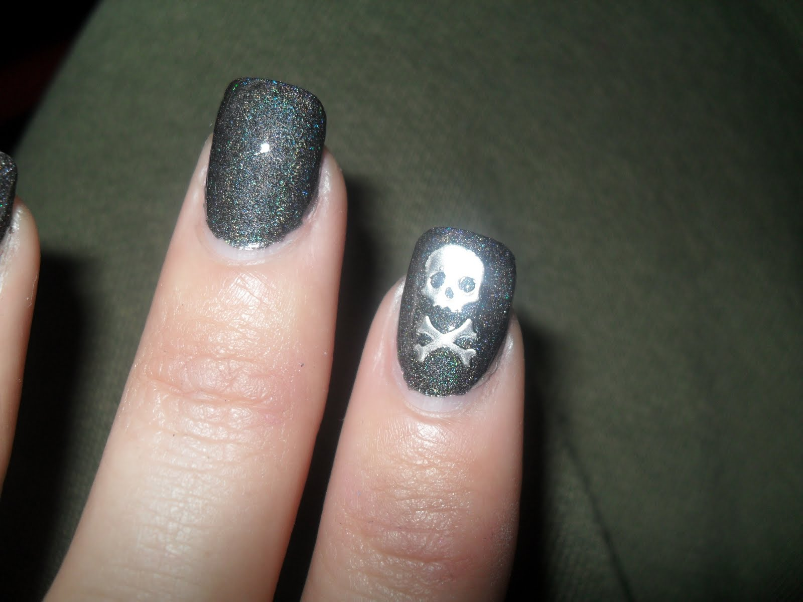 Two Nails Crossed Tattoo Meaning: Cute-tickle Nails: Andrea Fulerton Nail Boutique- Nail