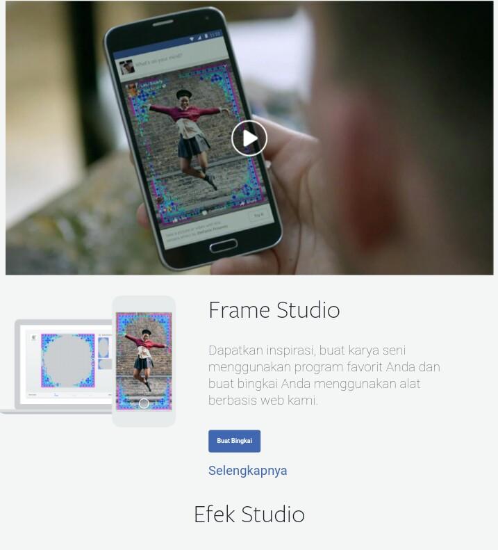 Cara MengUpload Frame Foto Facebook Buatan Sendiri