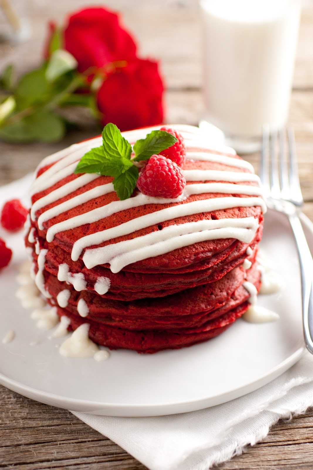 Red Pancake Images