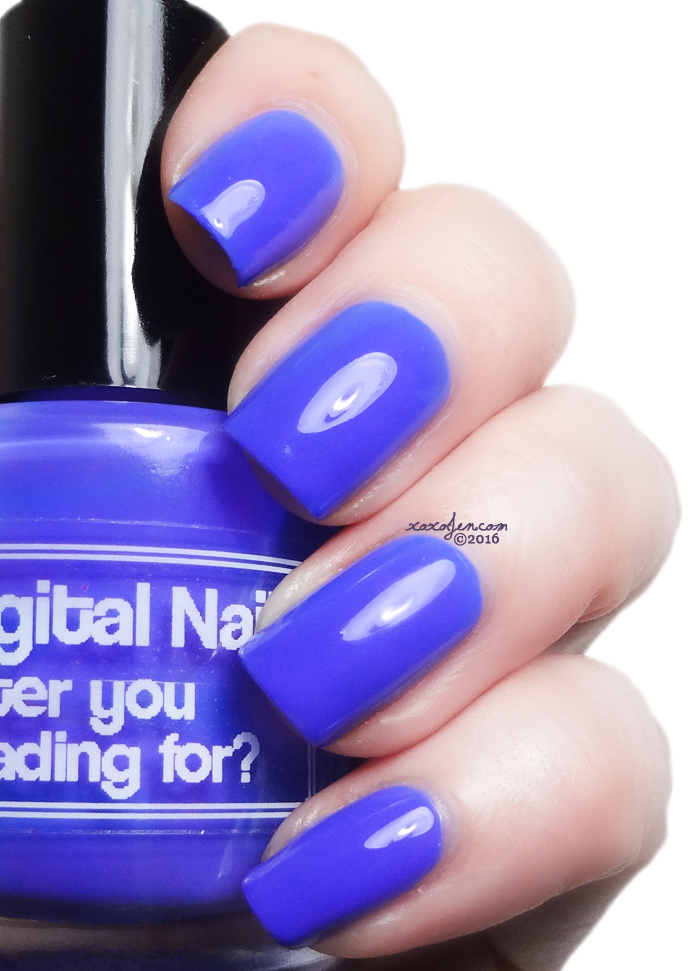 xoxoJen's swatch of Digital Nails Water You Waiting For