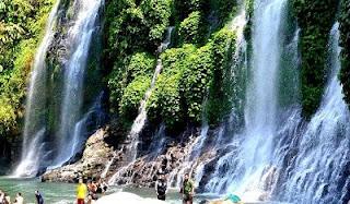 Tempat Wisata di Sumatera Selatan air terjun bidadari