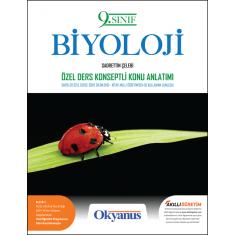 Okyanus 9.Sınıf Biyoloji Özel Ders Konseptli Konu Anlatımı Kitap