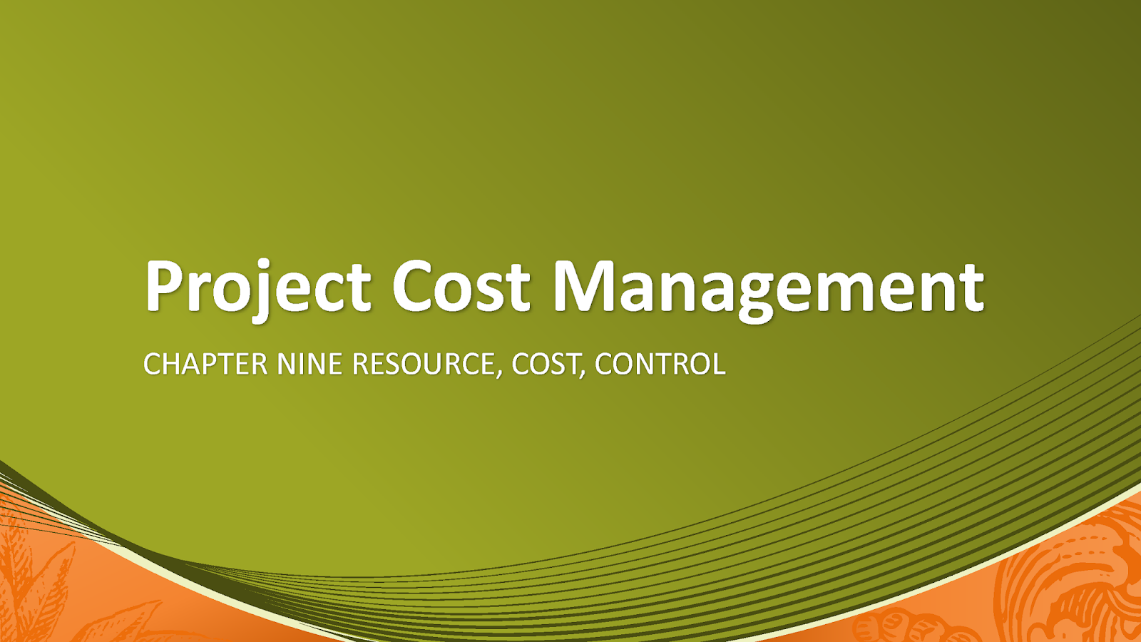 Project Cost Management pdf