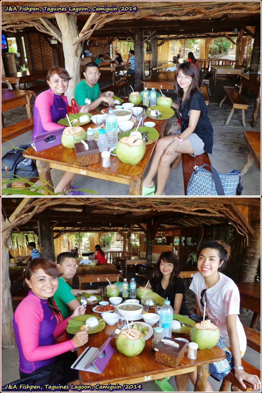 J&A Fishpen Resort, Taguines Lagoon, Camiguin