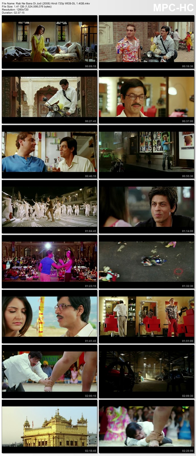 Rab Ne Bana Di Jodi (2008) Hindi 720p Untouched WEB-HDRip 1.4GB Desirehub