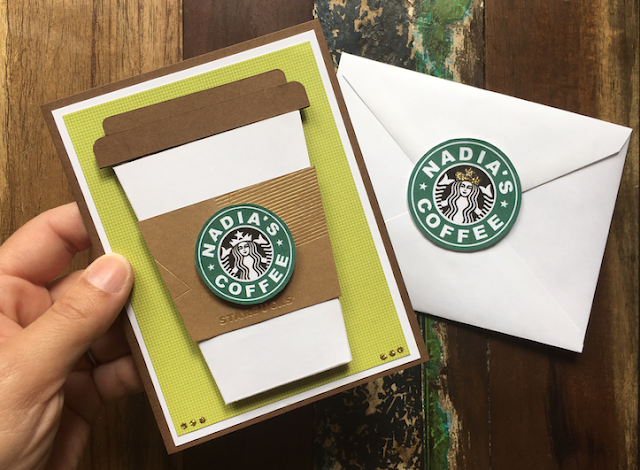 Personalized coffee cup with logo -Using Google Drawings to Create SVG Cricut Files