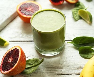 Blood Orange Green Smoothie