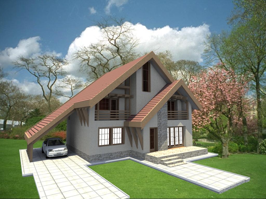 Arhiconstruct casa b60 for Imagini case moderne