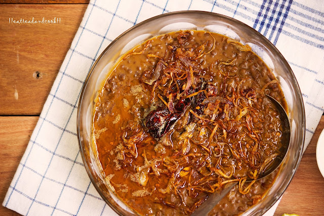 how to cook Simple Whole Masoor Dal / Simple Whole Red Lentils recipe and preparation