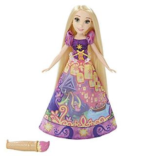 Raiponce de Disney avec un robe magique