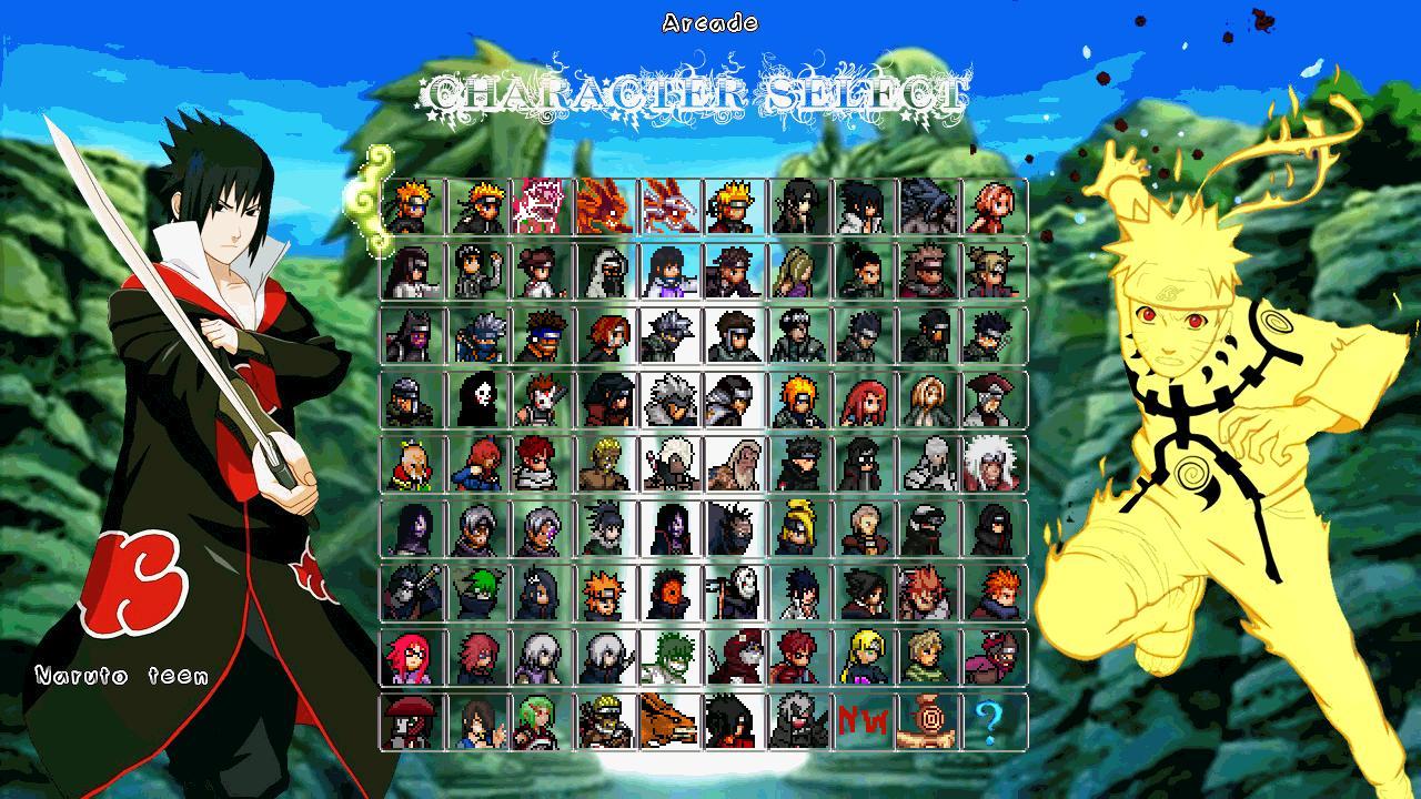 Naruto ninja storm 3 mugen 2014 pc games download | dunia naruto.