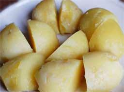 картошка со шпинатом рецепт