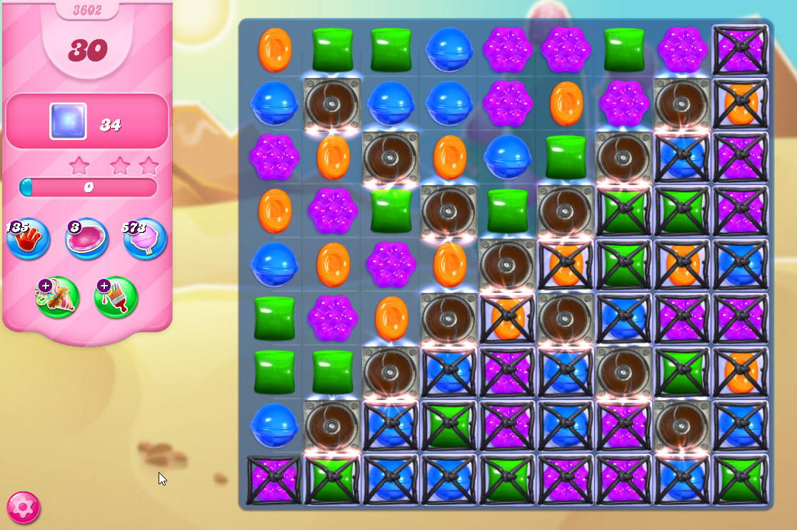 Candy Crush Saga level 3602