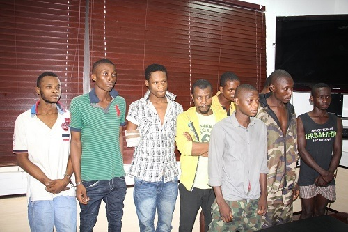 See Over 10 Deadly Kidnappers and Armed Robbers Terrorizing Port Harcourt Residents Arrested by Police (See Photos)