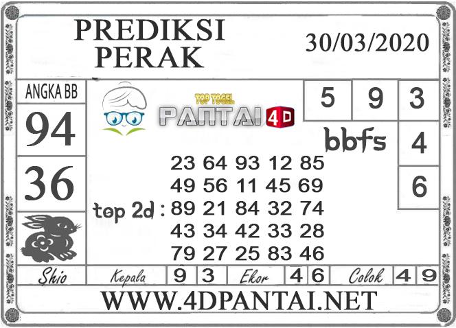 PREDIKSI TOGEL PERAK PANTAI4D 30 MARET 2020