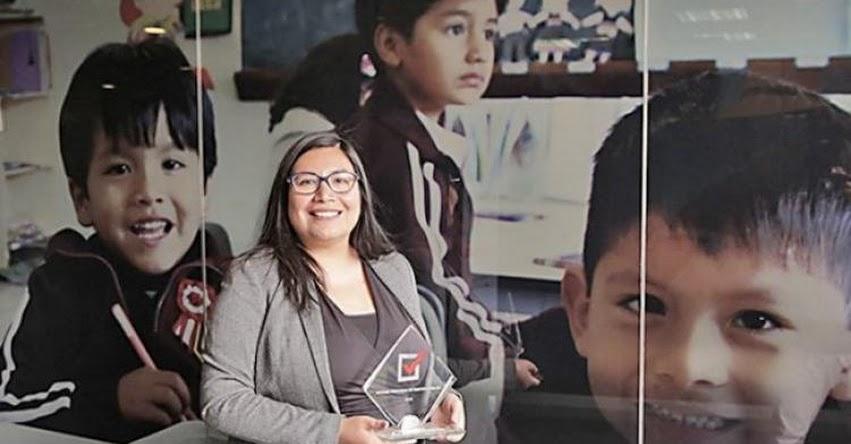 Annie Chumpitaz es la representante Minedu ante el CONAF del FONDEP (R. S. N° 020-2018-MINEDU) www.fondep.gob.pe