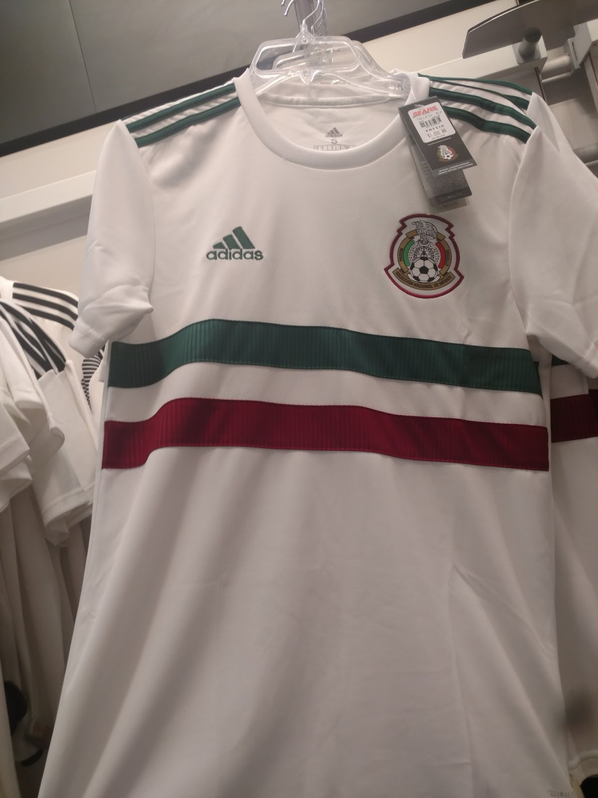 484c7ea95 Mexico 2018 World Cup Away Kit Leaked